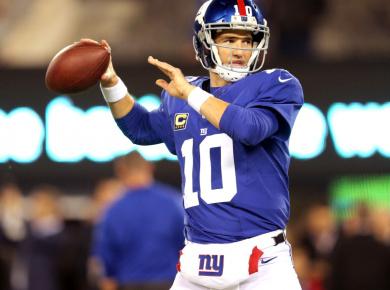 Eli Manning pass
