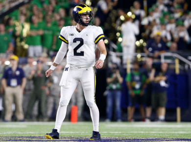 Shea Patterson Michigan Debut