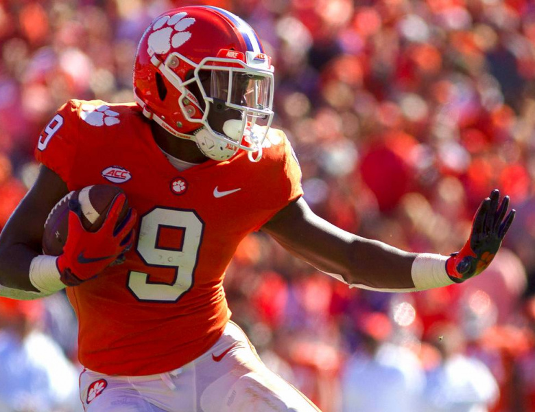 Travis Etienne NFL Draft
