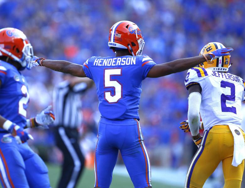 CJ Henderson NFL Draft