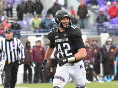 Paddy Fisher NFL Draft