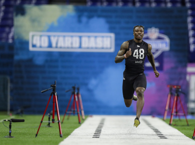 NFL Combine Day 1 Standouts