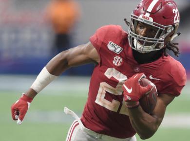 Najee Harris 2021 NFL draft scouting report