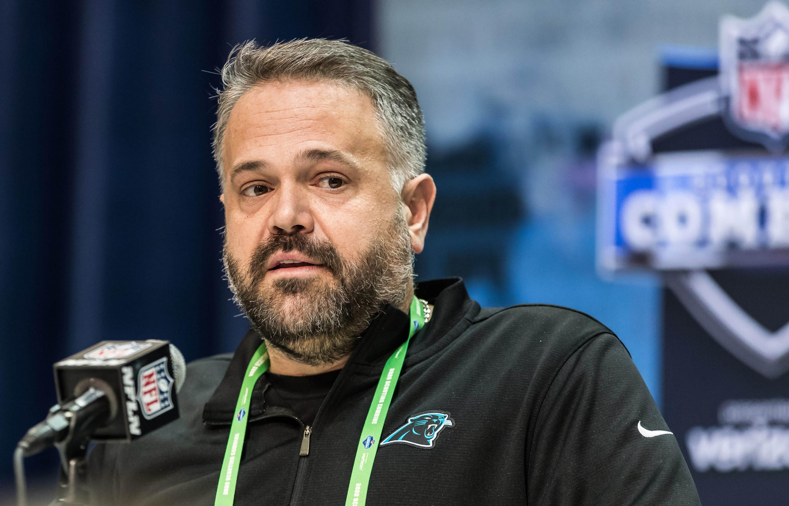 2021 NFL draft order Carolina Panthers