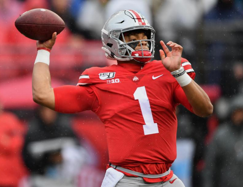 Justin Fields Pro Football Draft