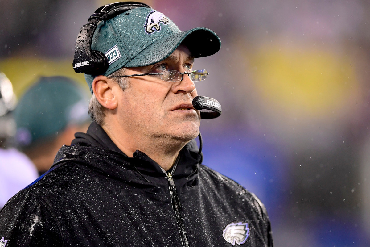 Eagles fire Doug Pederson